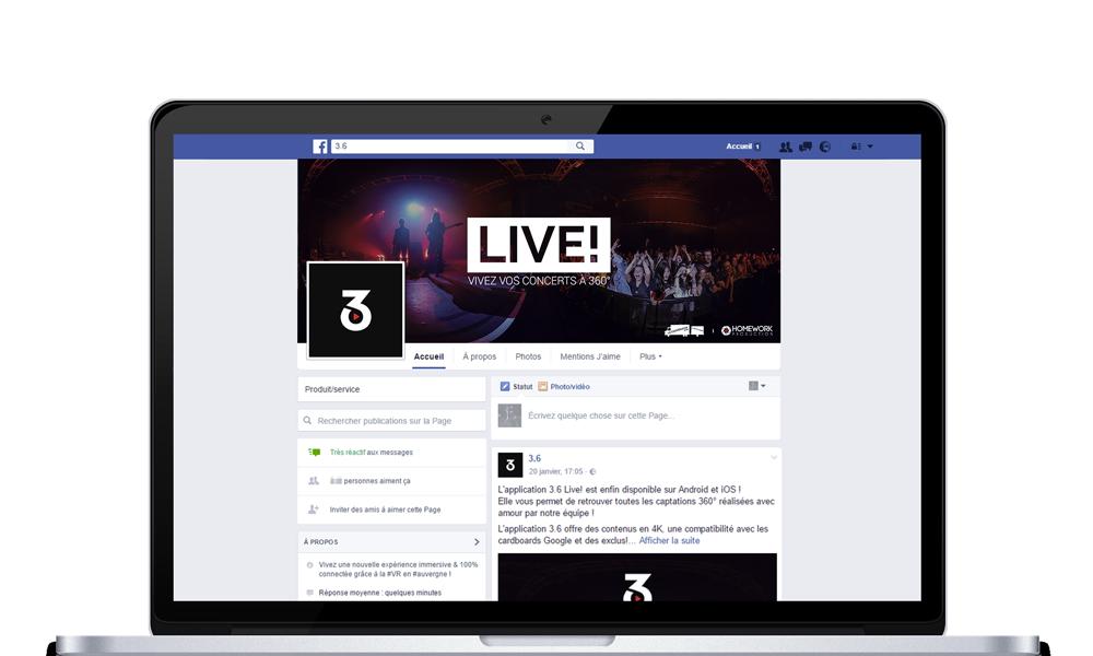 3.6 Live ! Tes concertsà 360°