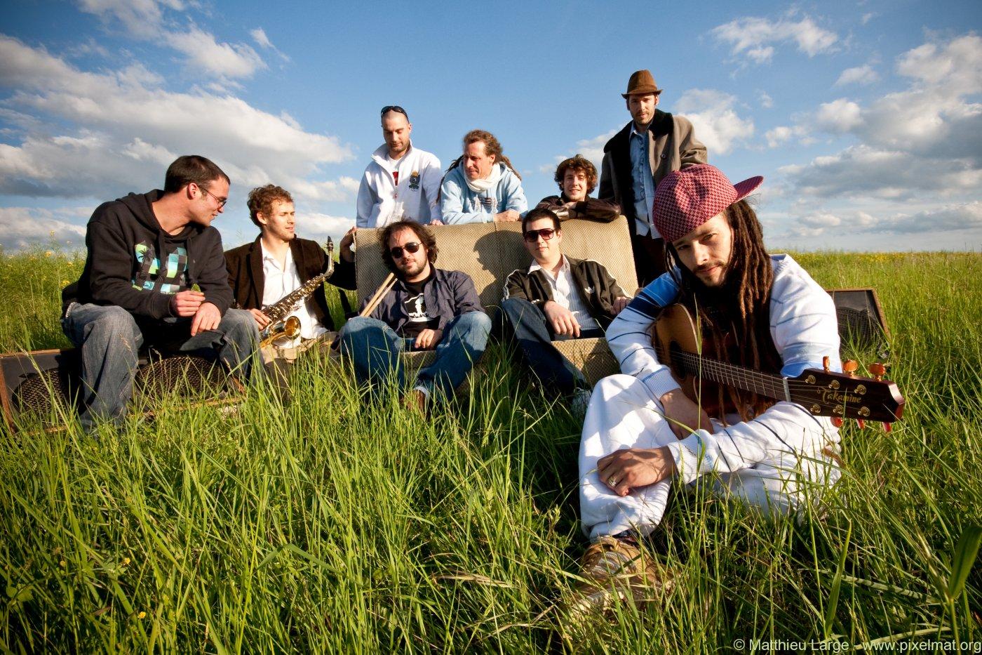 photo du groupe danakil concert 360