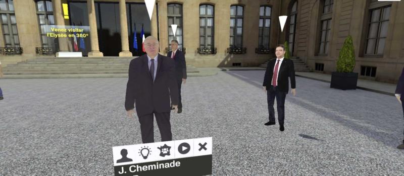 Présidentielle 2017 VR, l'app mobile dédiée aux élections